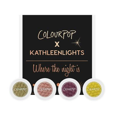 ColourPop x KathleenLights Where the Night Is Super Shock Shadow Collection
