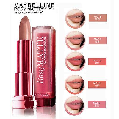 Maybelline Color Sensational Rosy Matte Lipstick