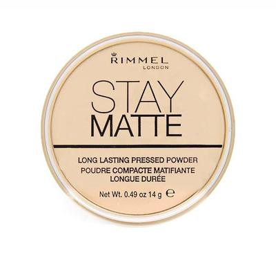 Gunakan Bedak Tanpa Warna: Rimmel Stay Matte Powder