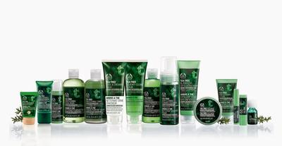 The Body Shop Provides The Best Skincare Product to Fight Acne from Tea Tree Oil