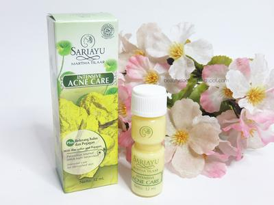 3.	Sariayu Intensive Acne Care