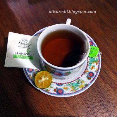 Cara Penyajian Sariayu Tea For Slim