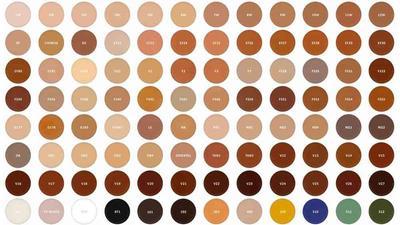 250 Shade Warna yang Cocok untuk Semua Jenis Skin Tone