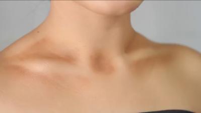 Begini Cara Mudah Melakukan Teknik Contouring di Bagian Leher