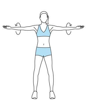 Half Circle Arm Rotation