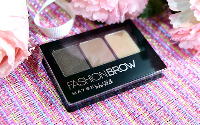 Maybelline Fashion Brow 3D Pallete: A Super Multi-function Makeup Pallete
