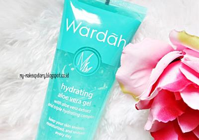 Wardah Hydrating Aloe Vera Gel, Foundation Primer Murah Meriah