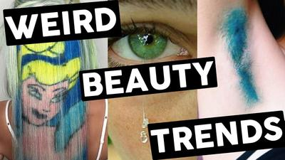 9 Tren Kecantikan yang Aneh