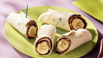 5. Banana-Nutella Roll