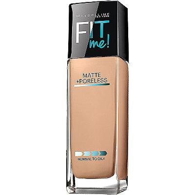 1. Maybelline Fit Me Matte + Poreless Foundation