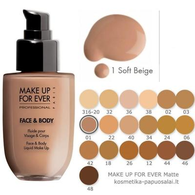 Makeup Forever Face and Body Liquid Makeup