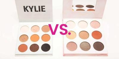 Kylie Eyeshadow vs Shaaanxo Eyeshadow