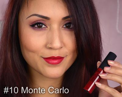 NYX Soft Matte Lip Cream - Monte Carlo