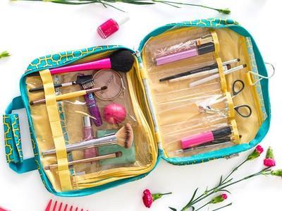 Makeup dan Skin Care Tidak Tercecer Ketika Travelling Dengan Tips Packing Mudah