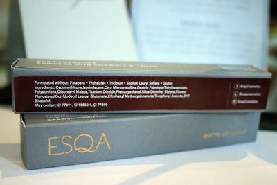 ESQA Matte Lip Liquid: A New-Comer That Steals Women's Heart With Its Luxurious Packaging and Safety Ingredients