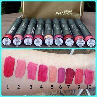 Botanica Mineral Soft Matte Lip Cream