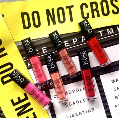 [HOTTEST ITEM] Make Over Intense Matte Lip Cream dengan Pigmentasi Warna Terbaik