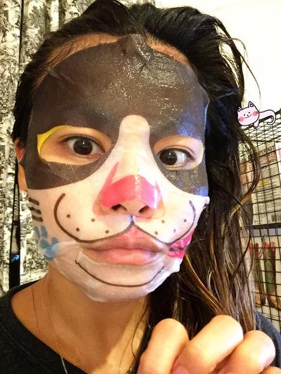 Pure Smile Cat Face Sheet Mask