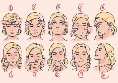 Lakukan Facial Massage Untuk Melemaskan dan Menghancurkan Lemak Pada Wajah