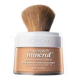 4. L'Oreal True Match Mineral Powder Foundation