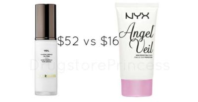 Hourglass Veil Mineral Primer vs NYX Angel Veil