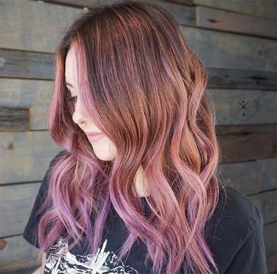 6. The Magic Colors: Brown + Rose Gold + Lavender!