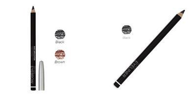 Eyeliner dan Eyebrow Pencil : Mineral Botanica Creamy Pencil