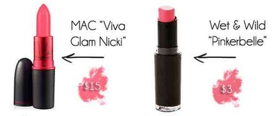 "MAC ""Viva Glam Nicki"" vs Wet n Wild ""Pinkerbelle"""