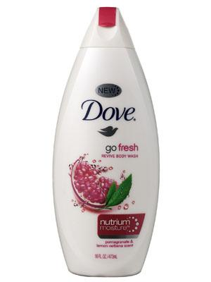 1. Dove Go Fresh Nourishing Body Wash
