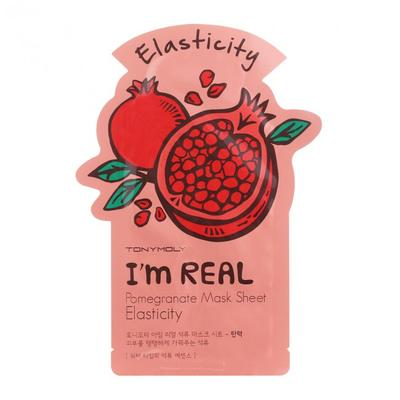 4. Tony Moly I'm Real Pomegranate Mask Sheet Elasticity