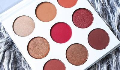 Warna Burgundy Kyshadow Palette