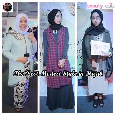 Best Modest Style in Hijab