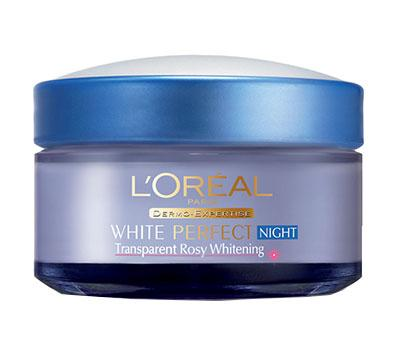 Loreal White Perfect Transparent Rosy Night Cream