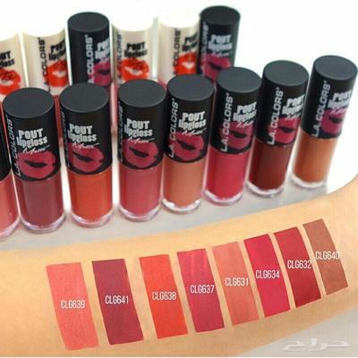 Kekurangan L.A. Colors Pout Lip Gloss Matte