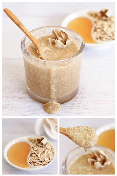 1. Oatmeal and Honey Mask