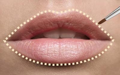 Agar Bibir Terlihat Lebih Penuh