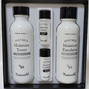 4. Tony Moly Naturalth Goat Milk Whitening Skin Care Set