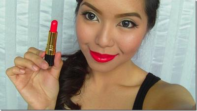 Revlon Super Lustrous Lipstick Creme in Fire and Ice