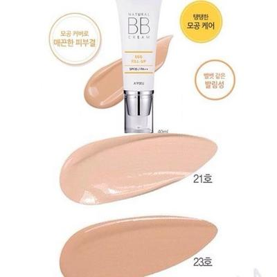 2. APIEU Natural Egg Fill-Up BB Cream