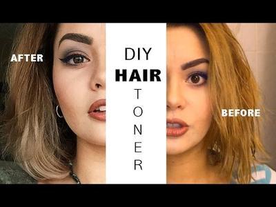 3. Hair Toning