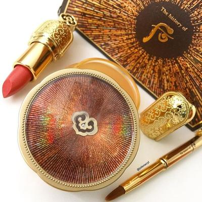 The History of Whoo Produces Luxurious Cosmetics and Skincare Suitable for The Royals