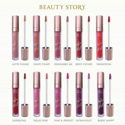Beauty Story Chiffon Matte Lipstick