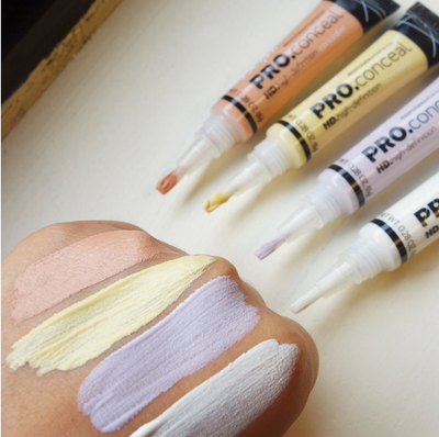 Sneak Peek of LA Girl Pro Concealer's New Colors