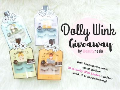 [November Giveaway] Dolly Wink Eye Lashes Set
