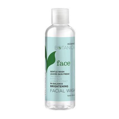 Mineral Botanica Brightening Facial Wash