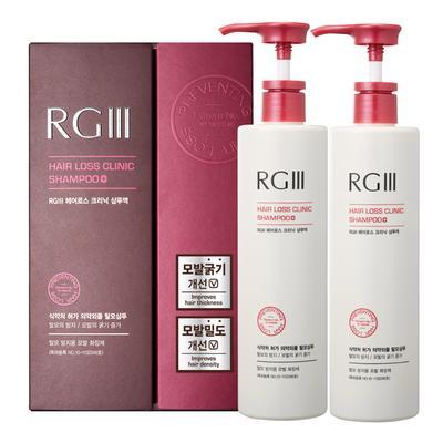 5. Flor de Man RG III Hair Loss Clinic Shampo