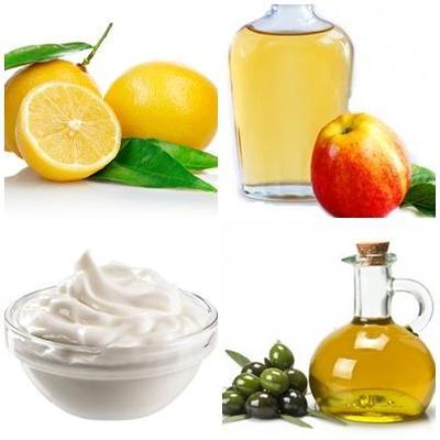 3. Yogurt, Cuka Apel, Jeruk, dan Minyak Zaitun