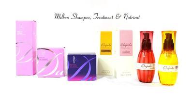 First Impression Milbon Hair Shampoo, Perawatan dan Nutrisi Untuk Rambut Rusak, Rontok dan Kering