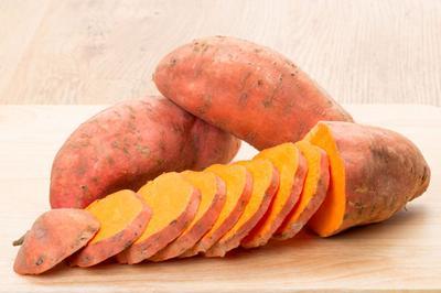 4. Sweet Potatoes (Ubi Jalar)
