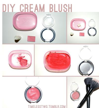 DIY Blush On dengan Menggunakan Bedak Bayi
